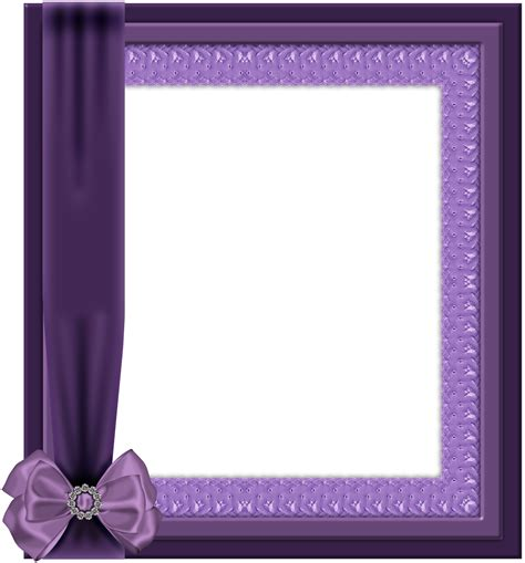 violet transparent png frame with bow gallery
