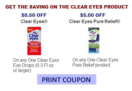 printable coupon for clear eyes clear eyes coupons coupon network