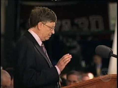 Mba Bill Gates Speech by Bill Gates Speech At Harvard Part 3
