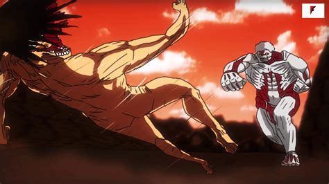 Attack on Titan Season 2 - Eren vs Armored Titan Battle ... Attack On Titan Eren Titan Vs Armored Titan