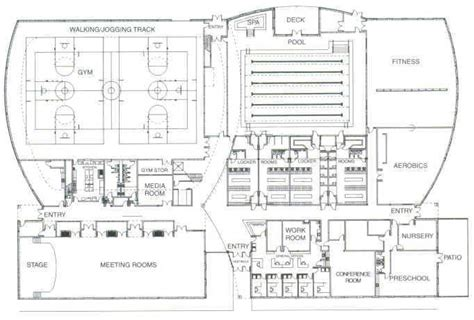 community center floor plan community center plan plan pinterest ontario floor plans and floors