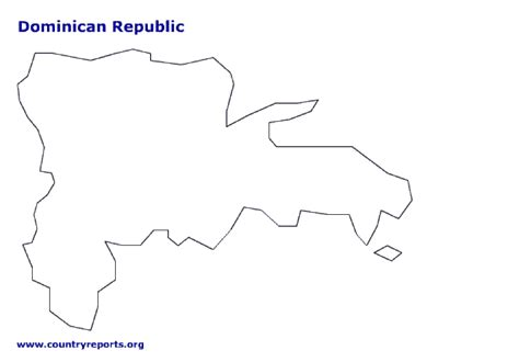 Republic Map Outline by Map Of Republic Terrain Area And Outline Maps Of Republic Countryreports