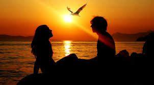 Tirai Burung Dan Sepasang Kekasih kumpulan gambar romantis cinta asmara picture
