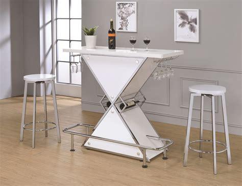 finn glossy white acrylic bar unit set las vegas