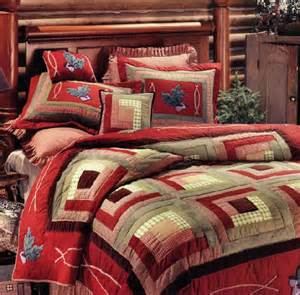 cozy cabin quilt and lodge bedding
