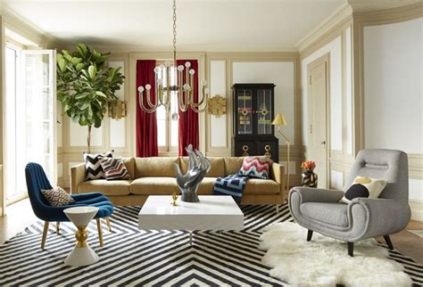 jonathan adler interiors living rooms by jonathan adler that bring color to winter