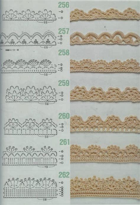 bordure en crochet pour armoire mes favoris tricot crochet 75 bordures au crochet