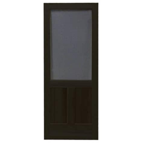 Black Screen Door by Shop Screen Tight Pioneer Black Wood Screen Door Common