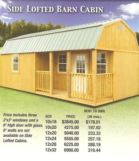 ollie  lofted barn shed plans