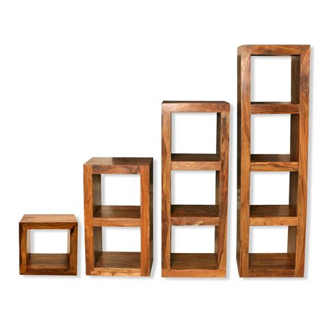 shelving units for living room cube shelving units solid sheesham wood shelving units