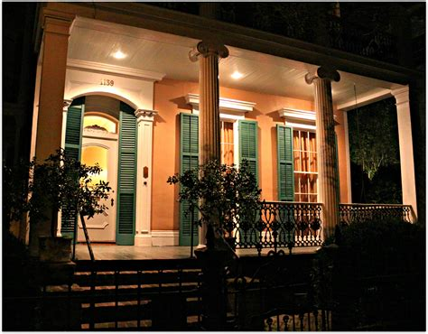 porch at night new orleans homes and neighborhoods 187 new orleans homes at