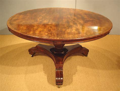 Mahogany Circular Dining Table by Georgian Mahogany Breakfast Table Antique Circular Or