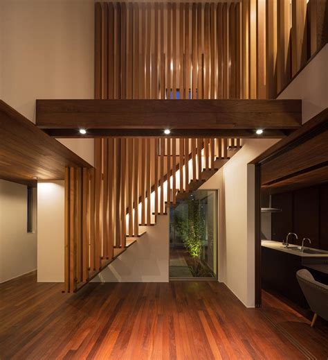 Japanese Stairs Design Suspended Wooden Staircase Floats On Air Captivatist