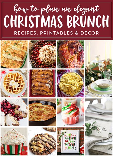 planning the perfect christmas brunch eighteen25