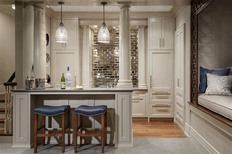 mirrored backsplash tile contemporary kitchen home mirror tile backsplash ideas home bar traditional with
