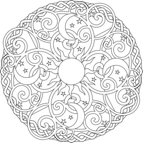 mandala images coloring pages winter mandala coloring pages coloring home