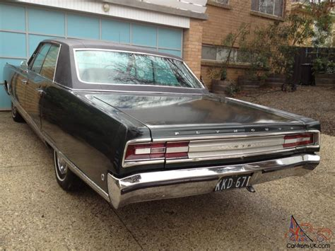 plymouth fury vip plymouth fury vip 1968 right drive with air