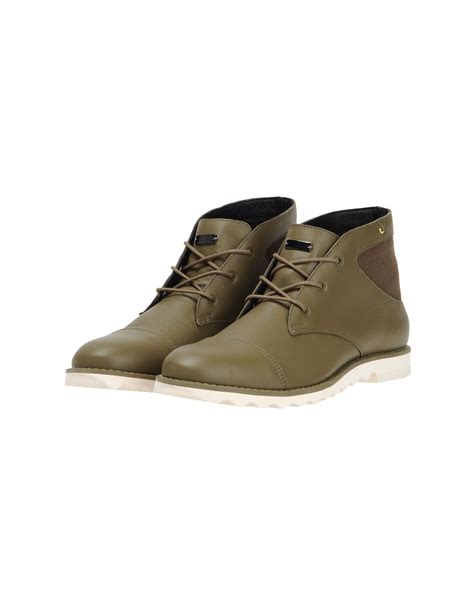 adidas slvr high top dress shoe in green for khaki lyst