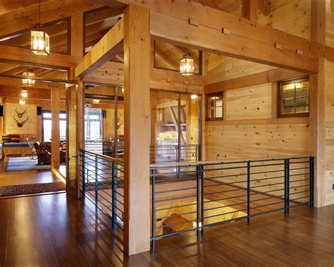 Modern Barns by The Beauty Of Working With Timber Frames Morehouse