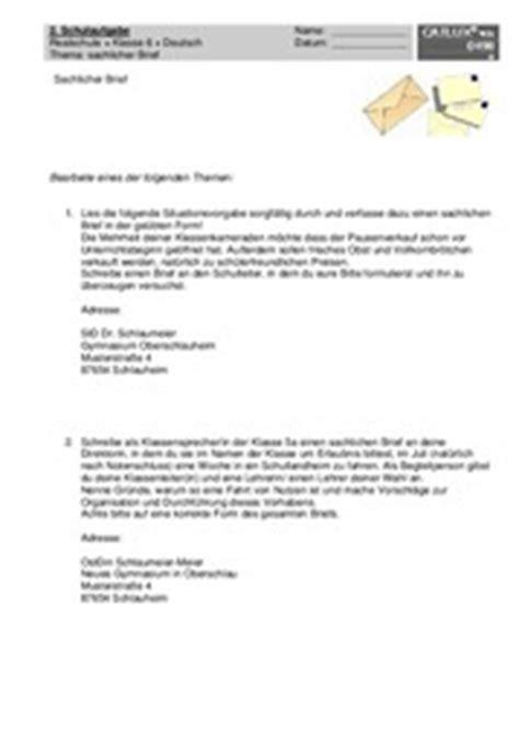 Tagebucheintrag Schreiben Muster Aufsatz Realschule Klasse 6 Catlux