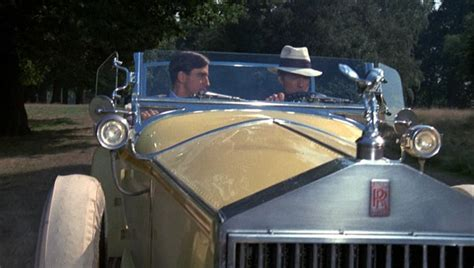 yellow rolls royce great gatsby robert redford the yellow car the great gatsby 1974