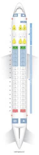 seatguru seat map air canada embraer e 175