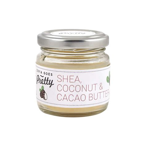 Cacao Butter Trio 225 Gr shea coconut cacao butter zoya goes pretty