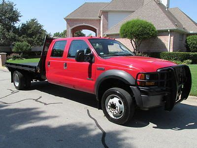 buy used 07 ford f550 superduty crew cab flatbed dually