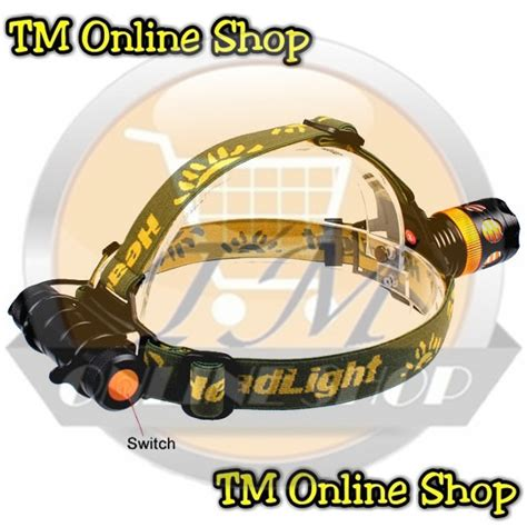 Senter Sepeda Q5 Zoom Plus Brecket jual senter kepala multifungsi 2 led cree q5 zoom fokus swat ms 2811 tm shop