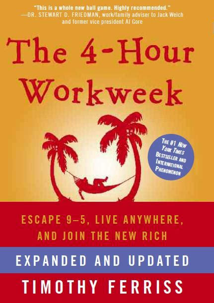 the hour books tim ferriss the 4 hour work week book review