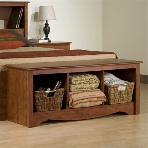 bench cubby storage cherry cubby storage bench csc 4820