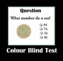 color blind jokes memes about being sick