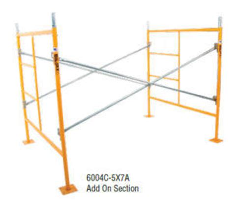 scaffolding sections add on scaffolding section