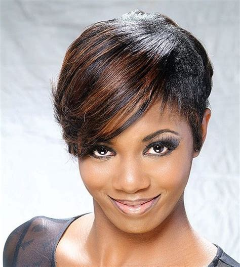 african american hairstyles who has hair on 1side short on other 40 stunning african american short hairstyles ideas