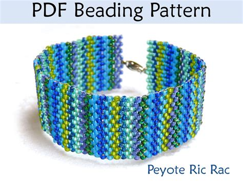 peyote beading tutorial beading tutorial pattern bracelet peyote stitch simple