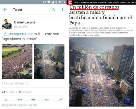 imagenes falsas venezuela estas son las fotos falsas de las marchas en caracas