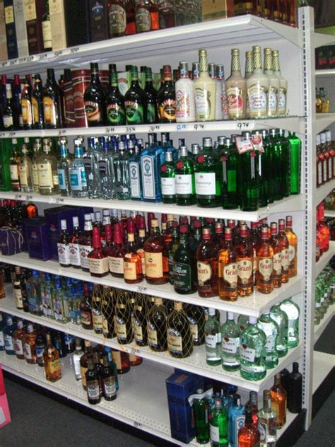 Liquor Store Shelf by Liquor Store Displays And Shelving Units