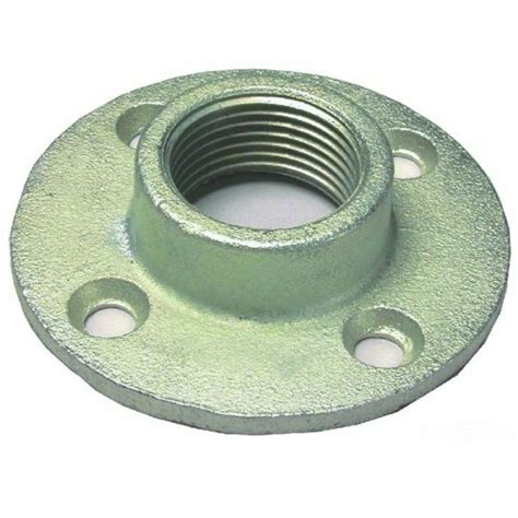 Iron Pipe Floor L by L H Dottie Ff200 Floor Flange 2 Inch Malleable Iron
