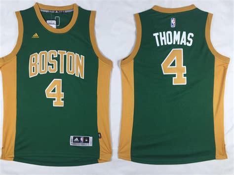 Jersey Basket Swingman Isaiah Boston Celtics cheap adidas nba boston celtics 4 isaiah new revolution 30 swingman green gold jersey for