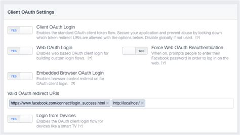 ionic oauth tutorial facebook connect oauth redirect uri url for hybrid app on
