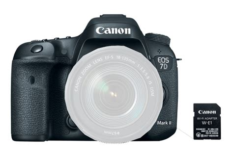 Wifi Dslr Canon canon eos 7dmkii wifi kit 20 2mp dslr with wifi adapter