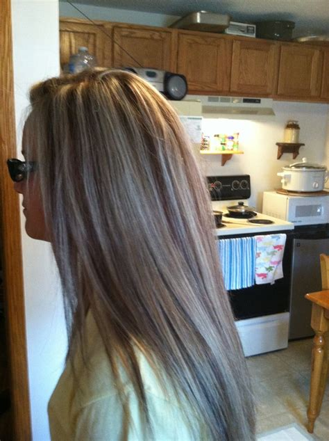 matrix hair color light golden brown highlight and lowlight for fall i used matrix v light