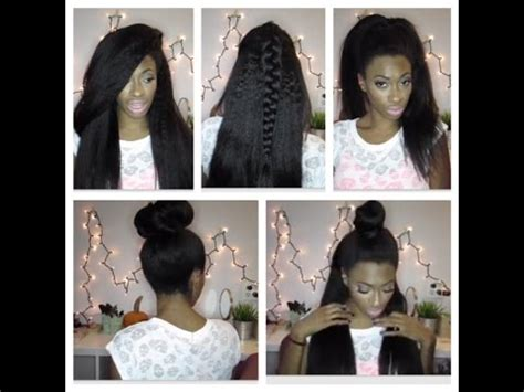 yay 2 part vixen weave install my first time doing vixen sew in various hairstyles musica movil