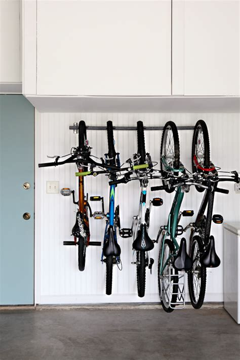 bike rack garage wall 25 garage storage ideas that will make your life so much easier