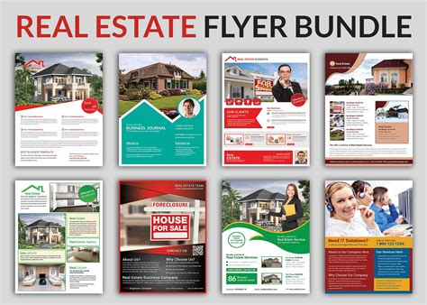 real estate marketing flyers templates real estate flyer bundle templates flyer templates