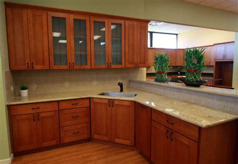 cherry shaker kitchen cabinets shaker cherry renton cabinet and graniterenton cabinet