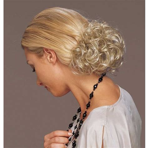 short spikey hairpice short curly clip in synthetic hair piece revlon