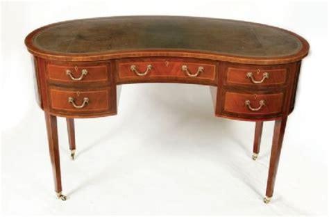 vintage kidney shaped pouf omero home kidney desks design decoration
