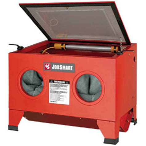 jobsmart abrasive blast cabinet at tractor supply co
