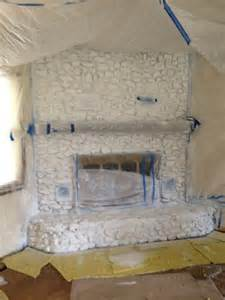 rock fireplace prime and paint fireplaces
